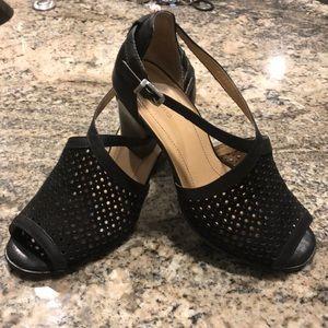 Nurture black shoes.  Size 8